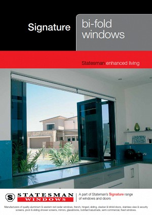 Signature Bi-Fold Windows