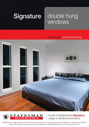 Signature Double Hung Windows