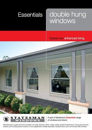 Essential Double Hung Windows