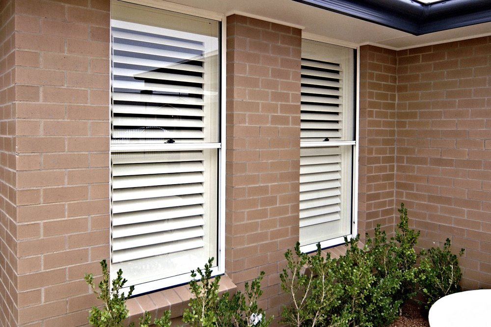 Double Hung Window Security Bar : Aluminium double single hung statesman windows adelaide
