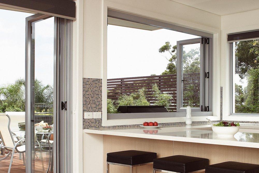 aluminium bi fold statesman windows adelaide