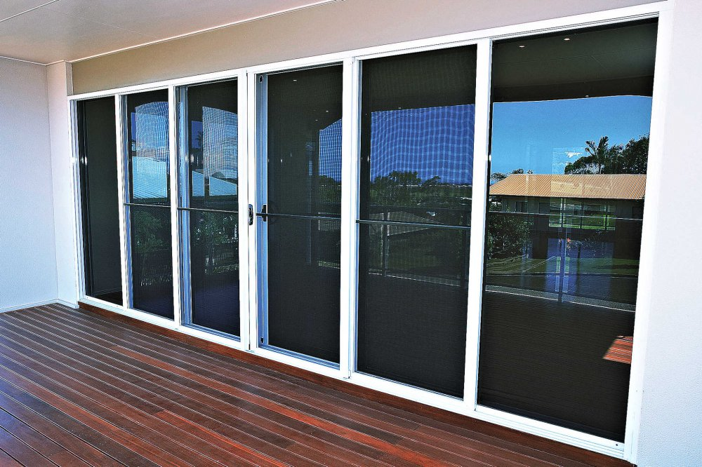 Security fly screens statesman windows adelaide for Sliding fly screen door parts
