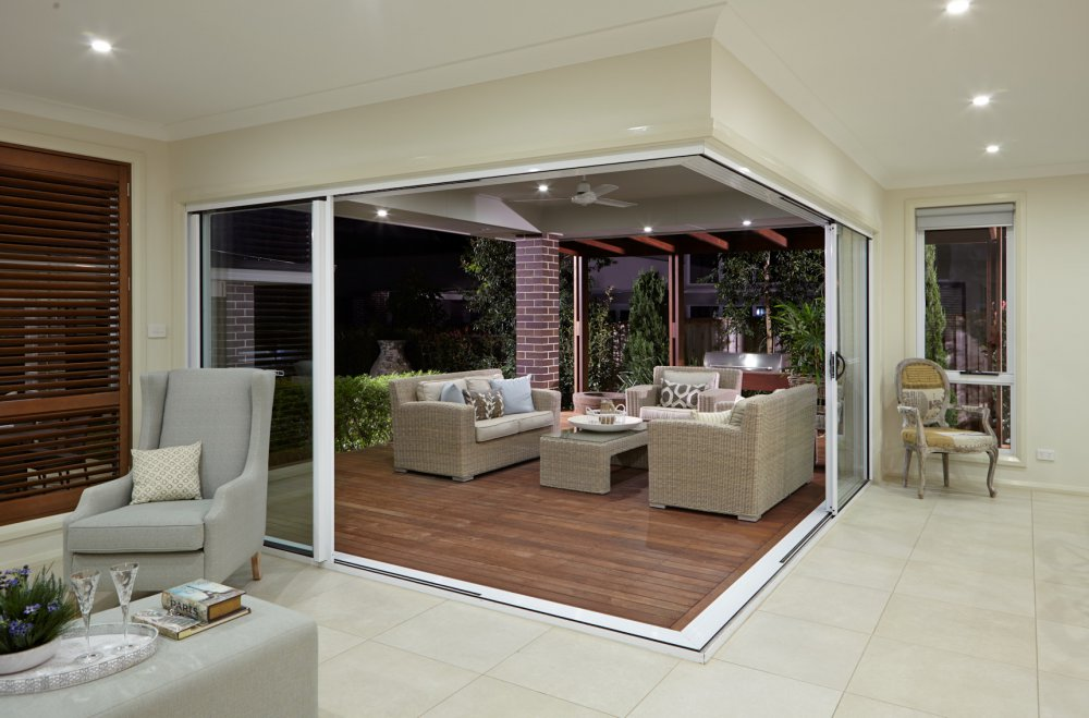 Aluminium sliding doors statesman windows adelaide for Small sliding exterior door