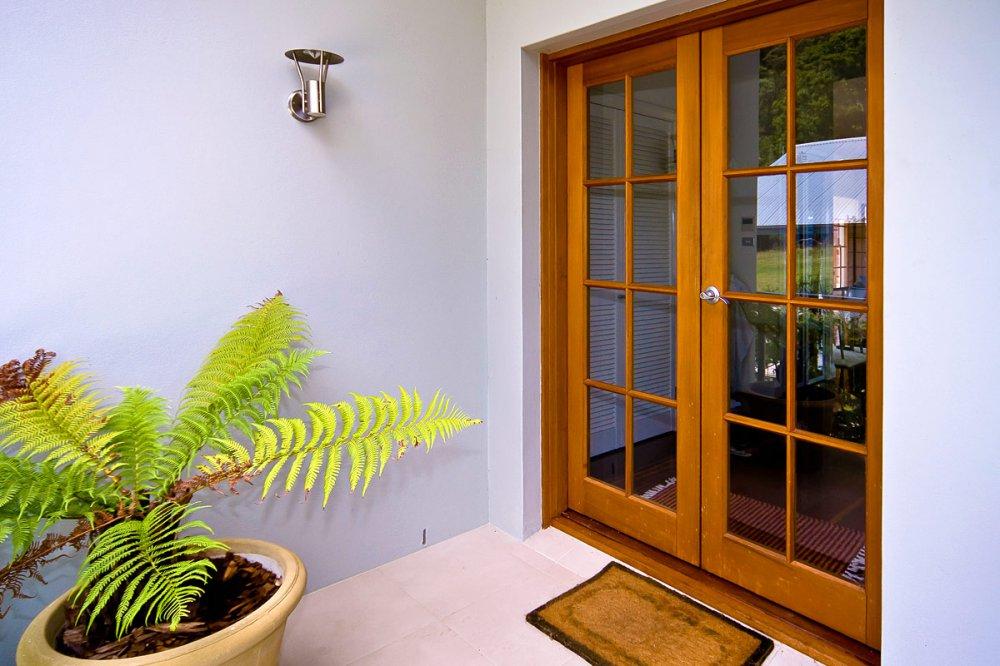Western Red Cedar French Doors & Timber Doors - Statesman Windows Adelaide